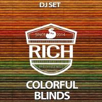 Aquaphonik & Shugar House Colorful Blinds