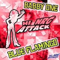 Babby One Blue Flamingo