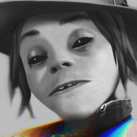 Gorillaz Busted And Blue